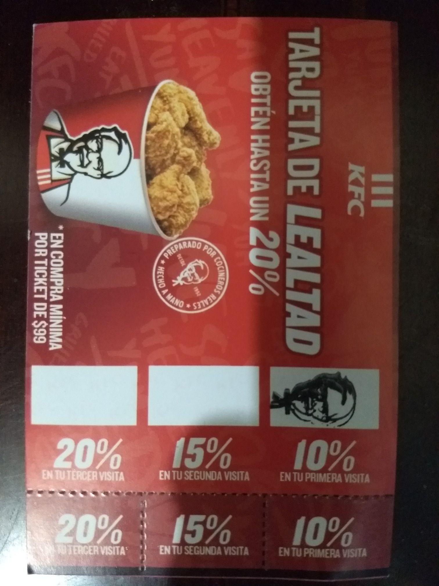 Tarjeta de Lealtad KFC