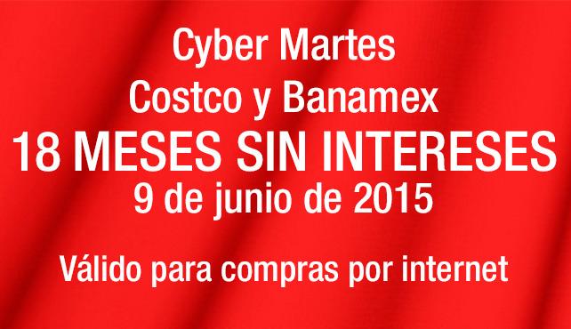 COSTCO: Cyber M@artes sólo 9 de Junio