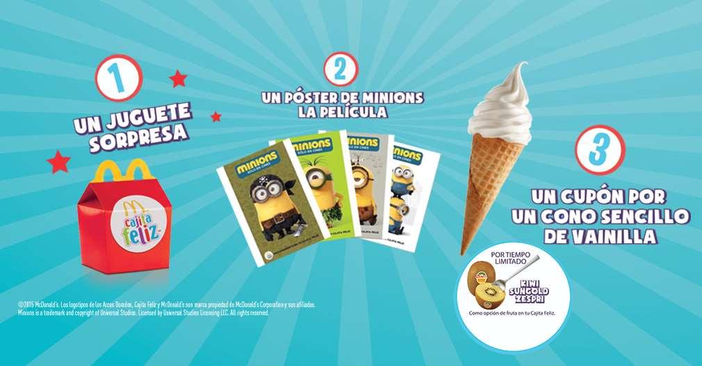 McDonald's: cono gratis comprando cajita feliz