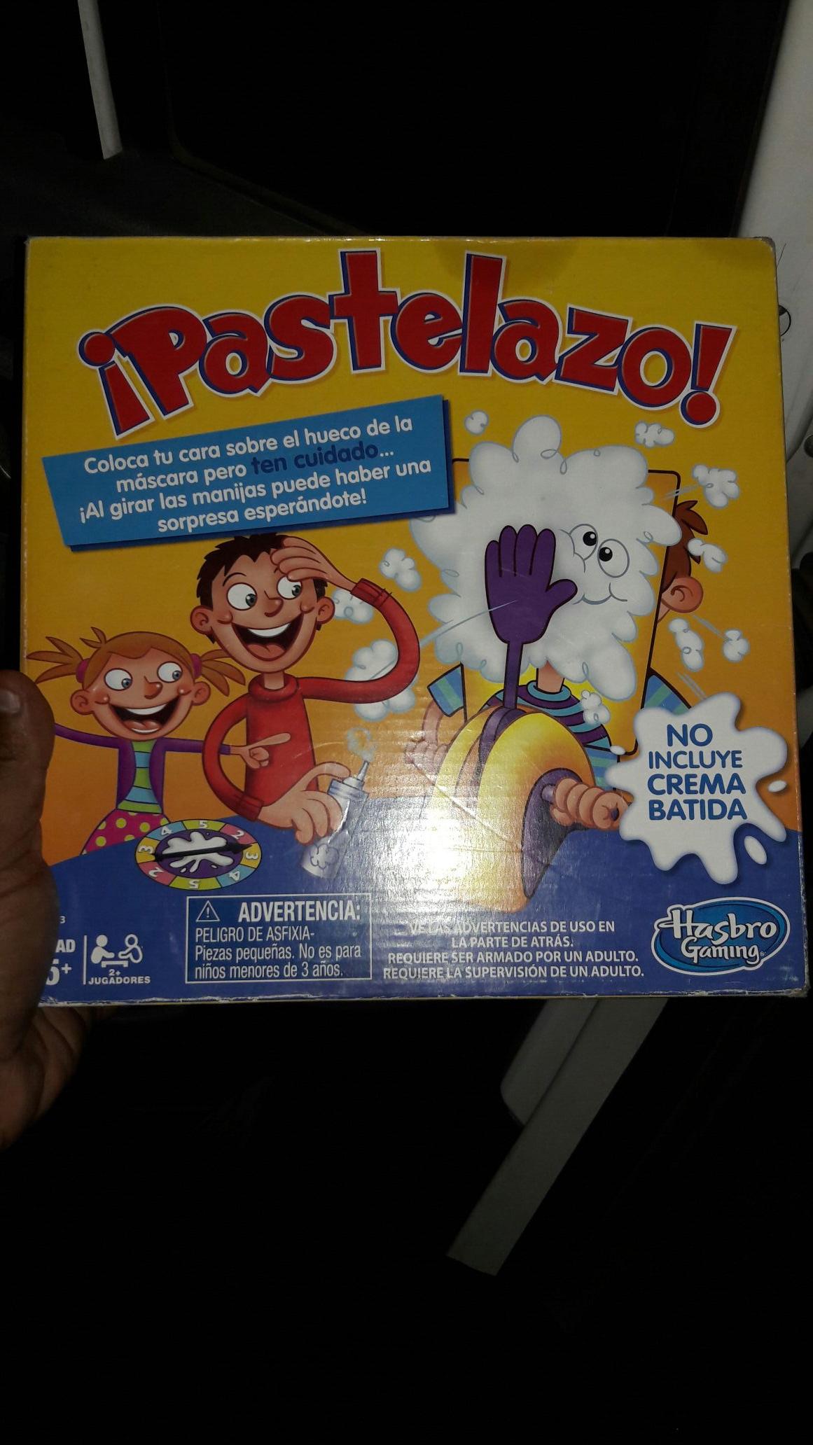 Bodega Aurrera: Juego Pastelazo Hasbro a $59.01