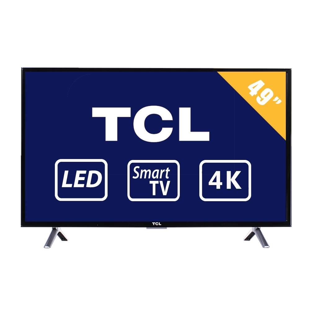 "Walmart: Pantalla LED TCL 49"" Smart TV mart TV 4K 49S412 pagando con bancomer wallet"