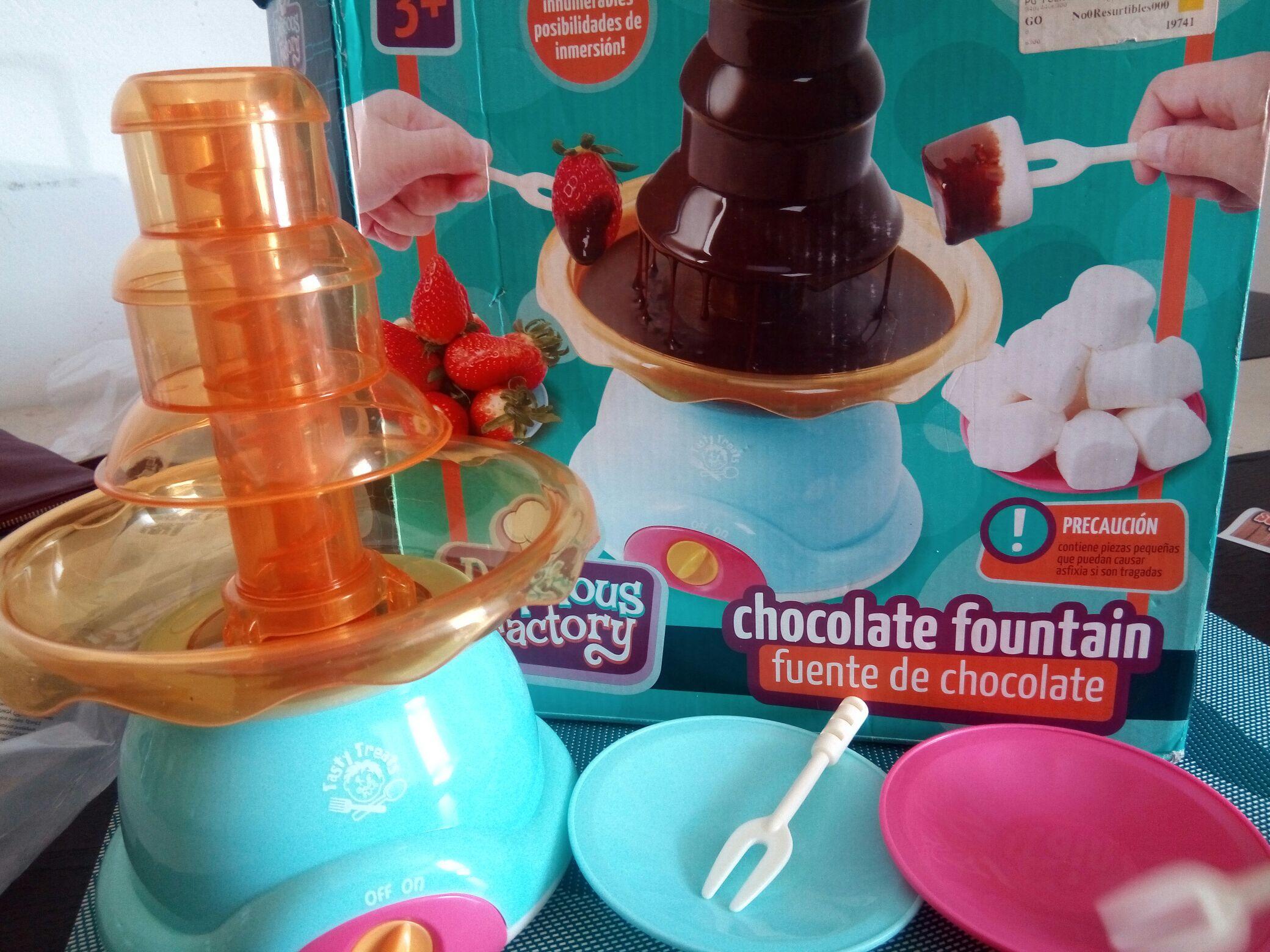 Bodega Aurrerá:  liquidación Fuente de chocolate