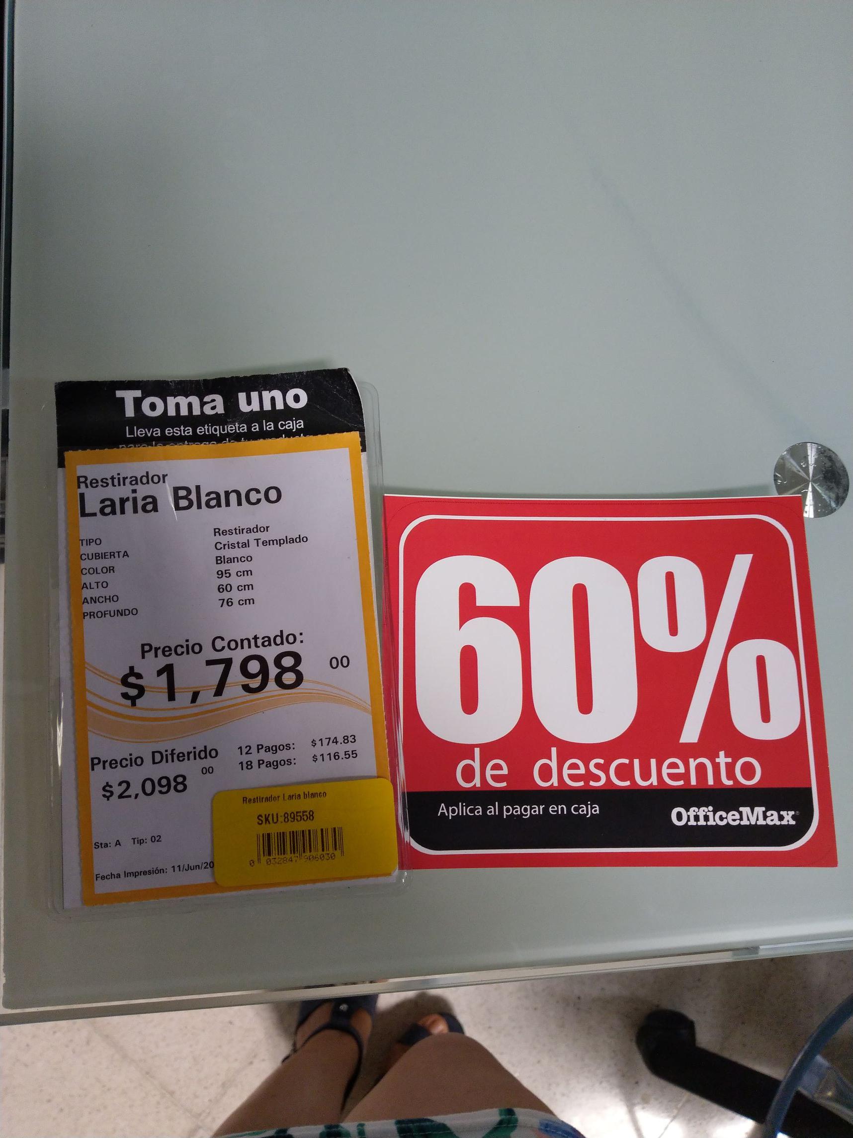 Office Max San Pedro Puebla: Descuentos ,  librero de de 182 cms en 660