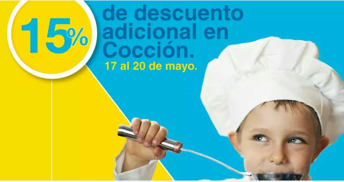 Outlet Mabe: cupón 15% en cocción