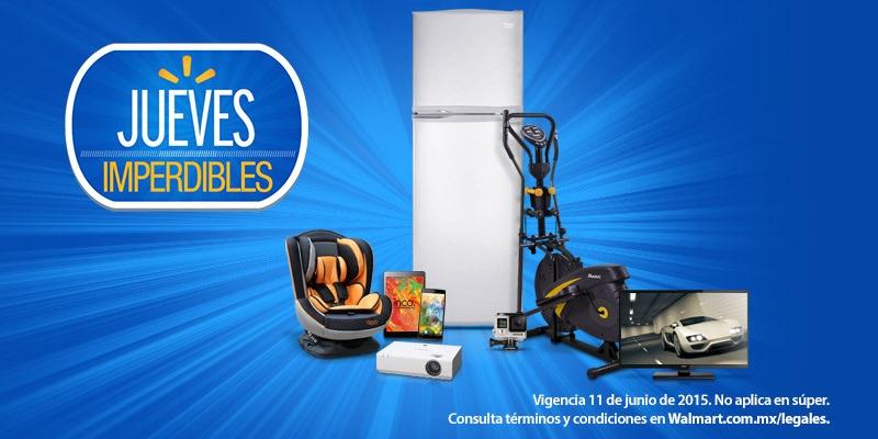 Walmart: Jueves Imperdibles: Envío Gratis en toda la tienda este 11 de junio