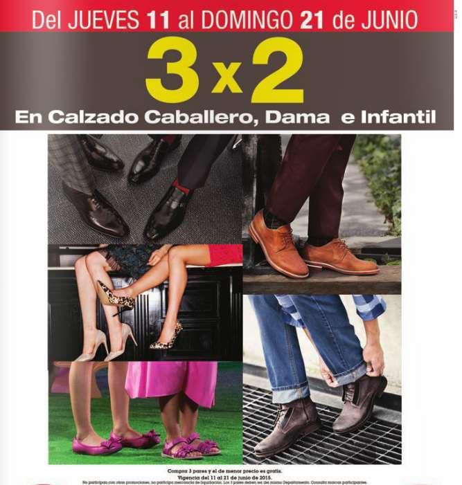 Sears: 3x2 en calzado para toda la familia