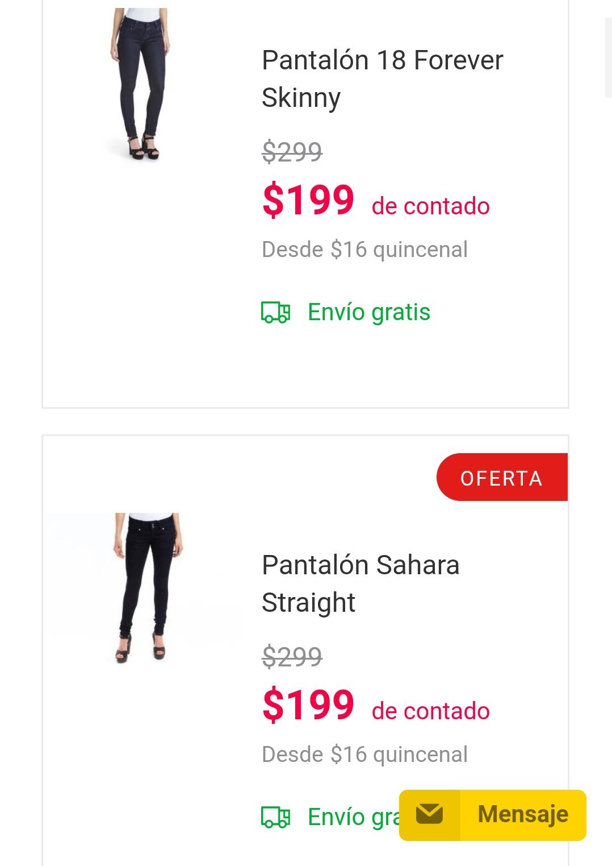 Coppel Online Jeans Para Dama Desde 199 Promodescuentos Com