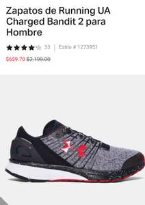 Under Armour: Tenis Running Charged Bandit
