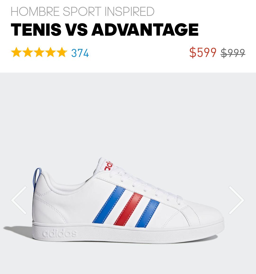 Adidas: Tenis VS Advantage