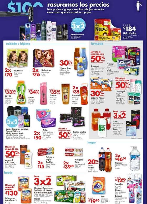 Farmacias Benavides: 3x2 en desodorantes en aerosol, Huggies Supreme, preservativos Sico,