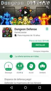 Google Play: Dungeon gratis