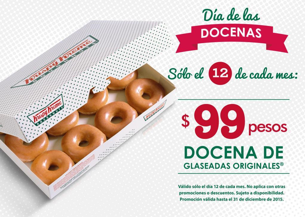 Krispy Kreme: día de las docenas, $99 docena de donas glaseadas