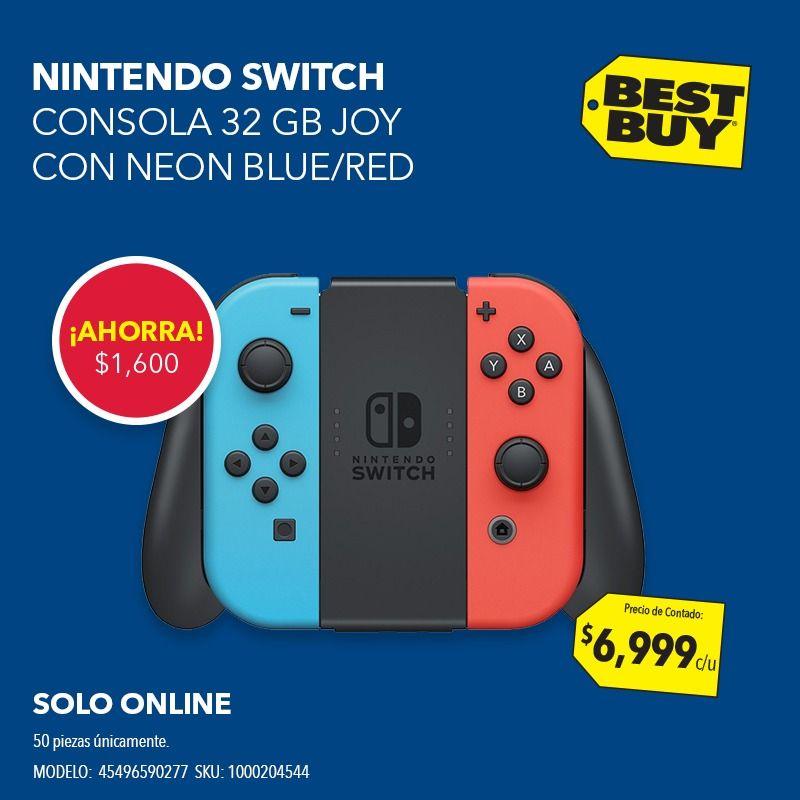 Best Buy: Nintendo switch