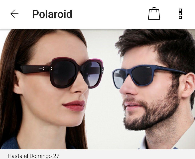 Privalia: Lentes Polaroid ambos sexos desde $353
