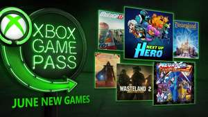 Xbox One: Juegos Game Pass Junio
