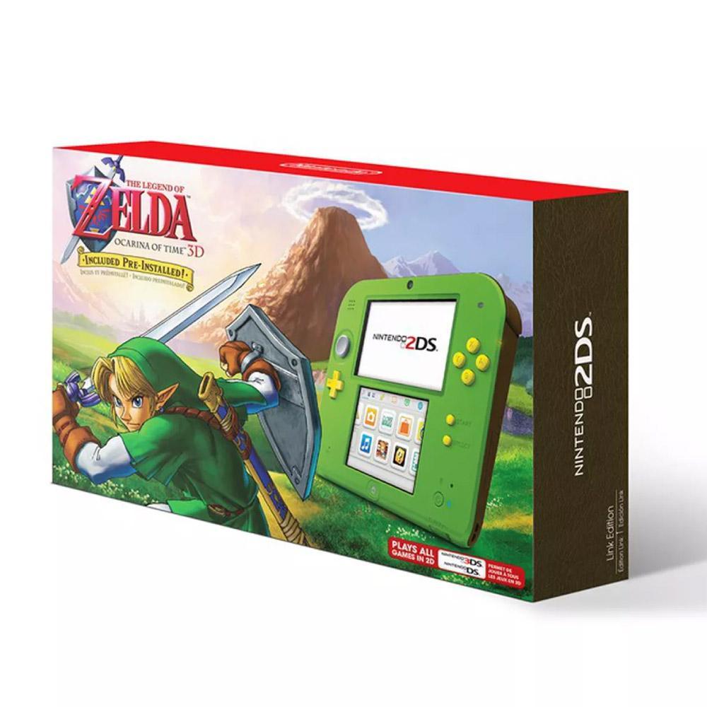 DOTO Nintendo 2DS - Legend of Zelda Ocarina of Time 3D
