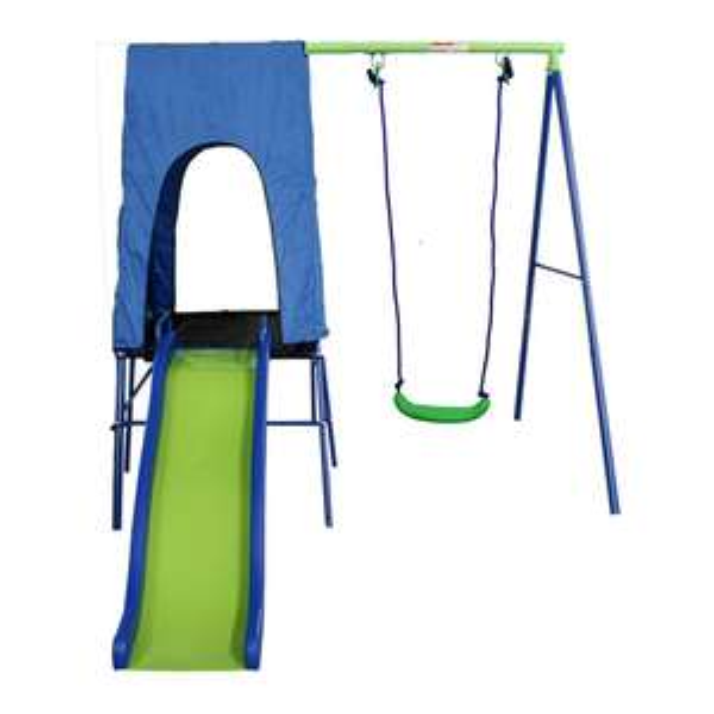 Hot Sale 2018 Walmart:  Resbaladilla y Columpio SportsPower Canopy Climber