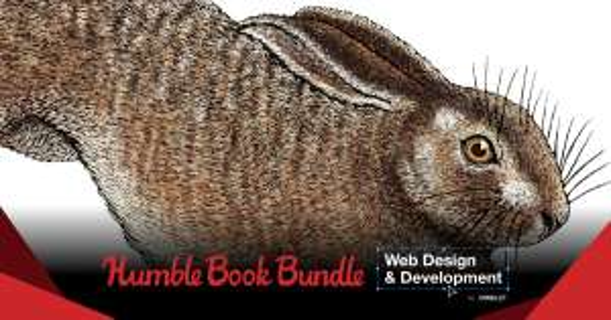 Humble Bundle: Paquete de libros de diseño y desarrollo web por O'Reilly(de 1 hasta 15 dólares)