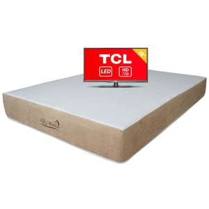 Walmart - Colchón Bio Mattress de 11544 a 4490 + TV HD de regalo