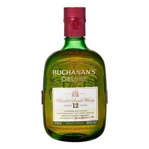 Superama: 3 Botellas de Whisky Buchanan's Deluxe 12 años escocés 750ml ($359.33 c/u)