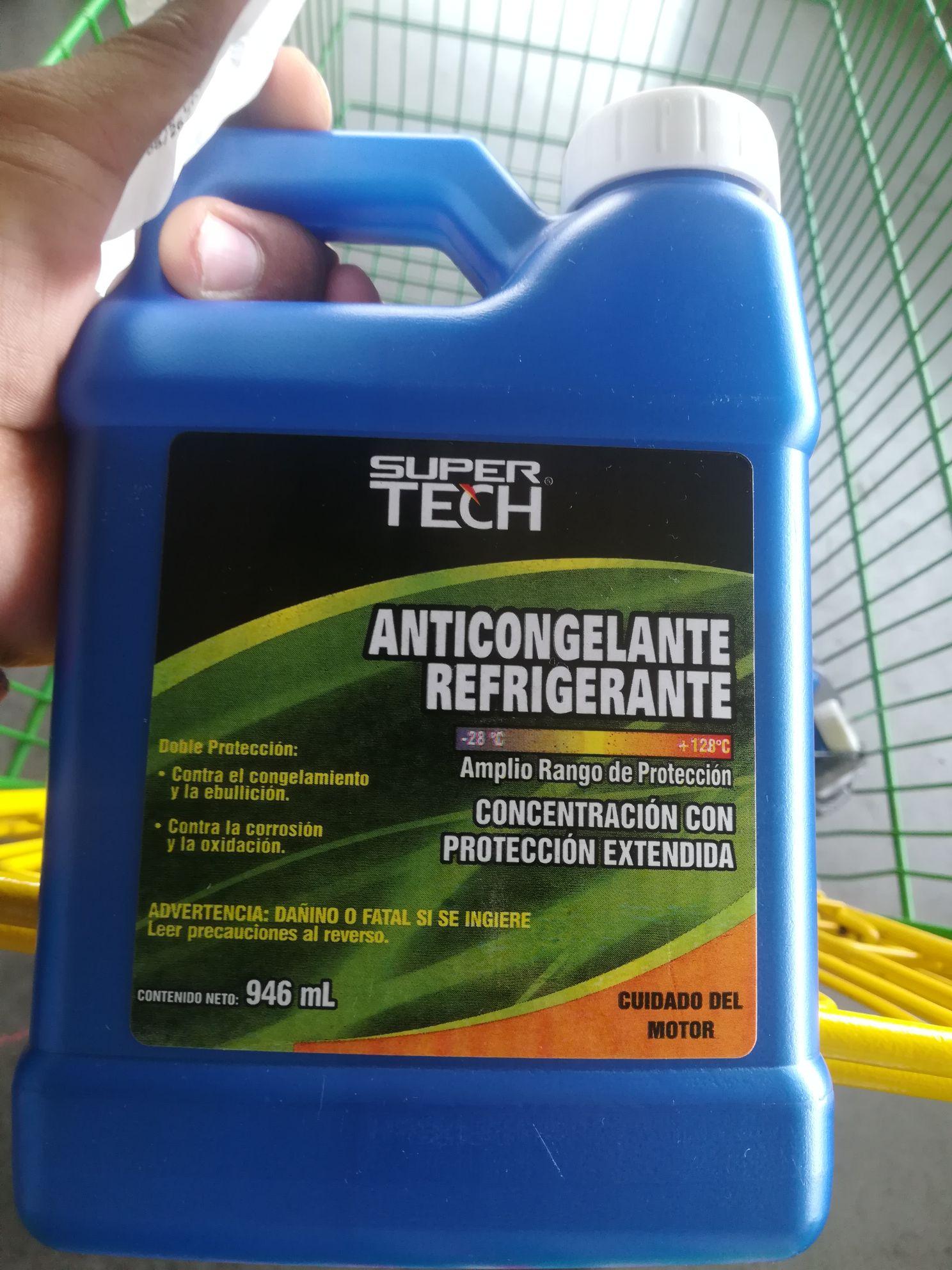 Bodega Aurrerá Colima: liquidación  Anticongelante Super Tech 946 ml