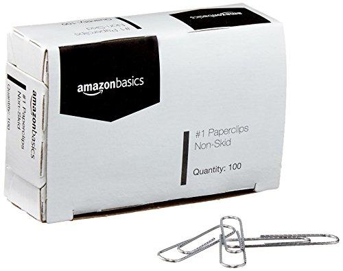 Amazon: Caja de CLIPS chicos - 10 cajas de 100 c/1 (PRIME)