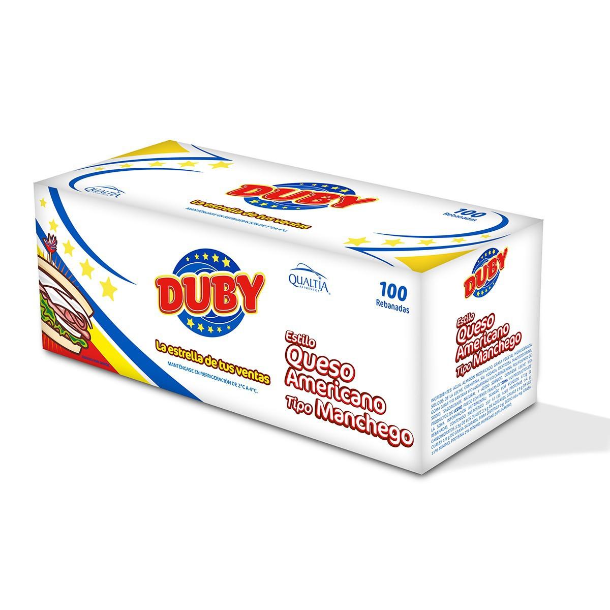 Chedraui: Rebanada de Queso Duby Manchego a $0.80