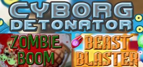 IndieGala: Cyborg Detonator + Zombie Boom + Beast Blaster (STEAM) GRATIS