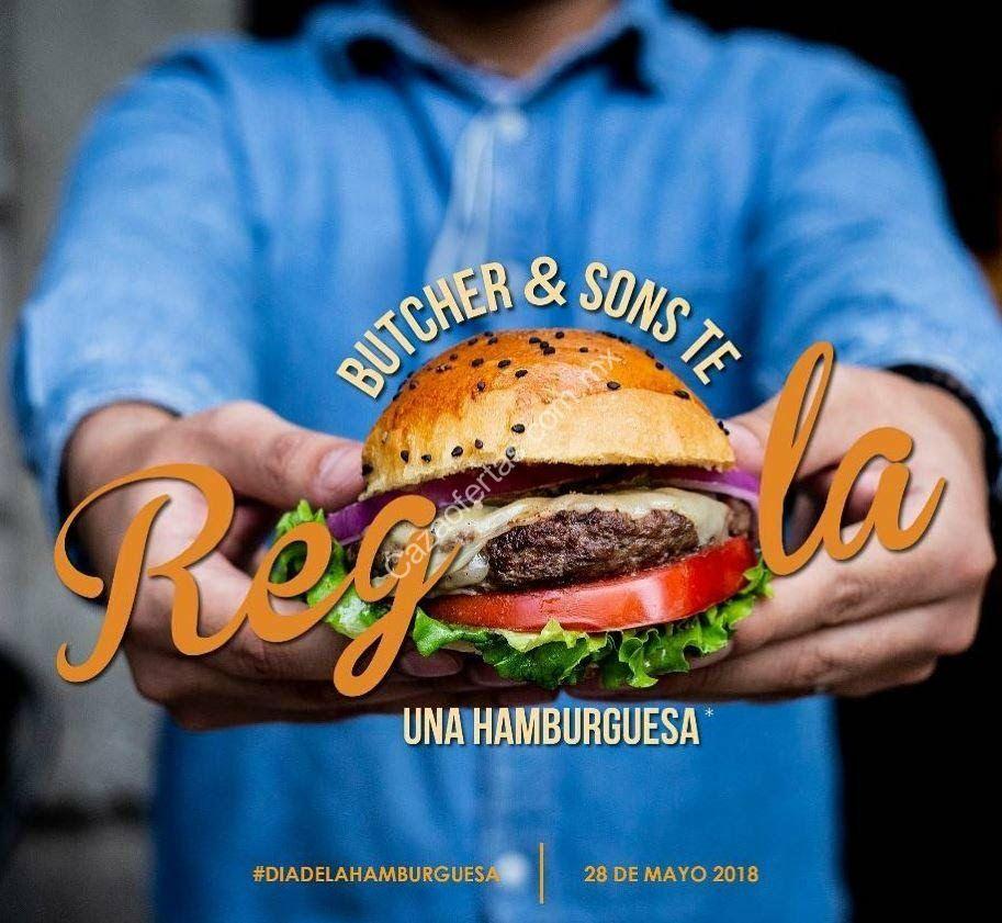 Butcher & Sons Día de la Hamburguesa 28 de mayo: hamburguesa Original para llevar GRATIS