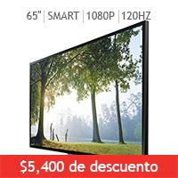Costco en Línea: Varias ofertas en pantallas Samsung del 1 al 30 de junio
