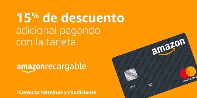 Hot Sale en Amazon: 15% de descuento con Tarjeta Amazon Recargable