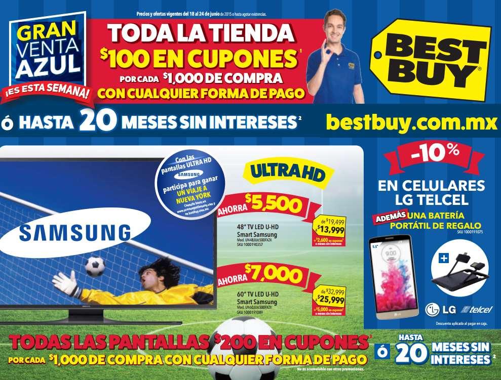 Best Buy: $100 de bonificación x cada $1,000 en toda la tienda y $200 en teles y consolas