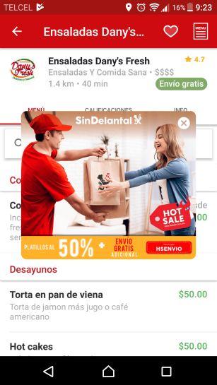 SinDelantal: Cupón envío gratis