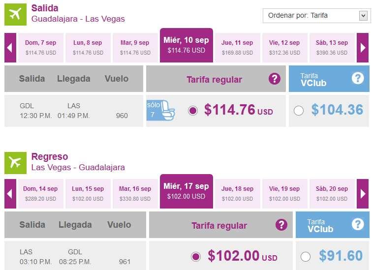Volaris: vuelos nacionales desde $499 y a USA desde US$99 de agosto a octubre