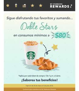 Starbucks doble stars