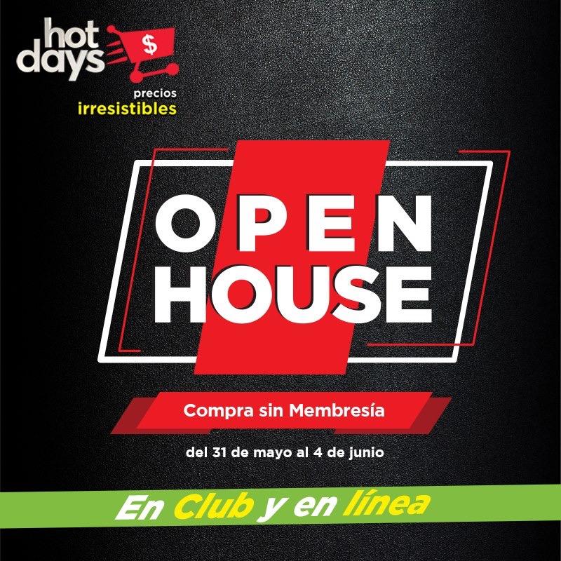 Sam's Club: Open House del 31 de mayo al 4 de junio + $200 al hacerte socio