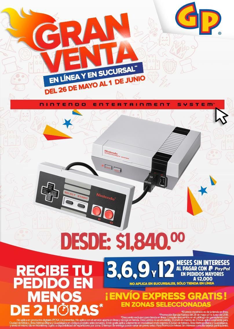Gameplanet: Consola Nintendo Nes Mini