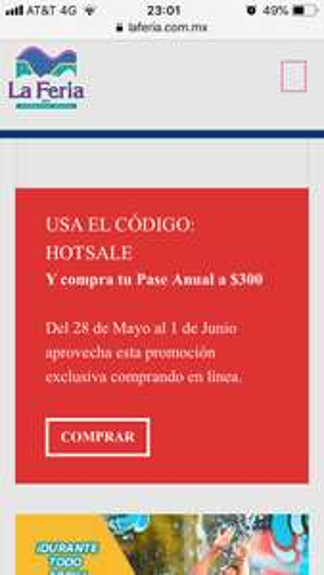 Hot Sale 2018 en la Feria de Chapultepec: Pase anual $300