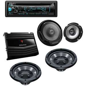 ELEKTRA: Paquete completo de Car Audio Kenwood