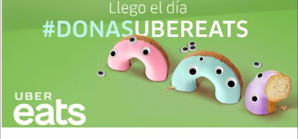Uber Eats: #DonasUberEats 10AM / MAÑANA 30 MAYO