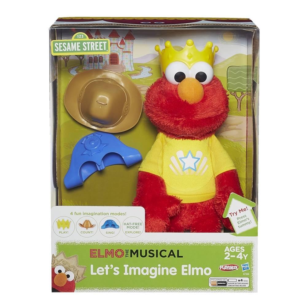 Walmart: Elmo Imagnina conmigo $295.00 + Envio (precio normal $829.00)