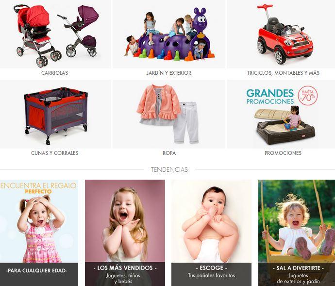 Linio: cupón de 30% de descuento en bebé y niños (pañales, carriolas, bibis, etc)