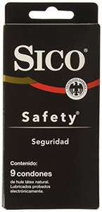Amazon: 9 Condones SICO Safety