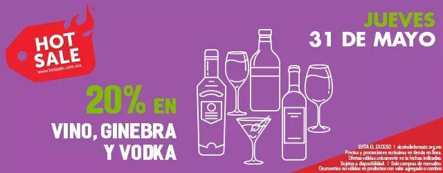 Hot Sale en Bodegas Alianza: 20% de descuento en vino, ginebra y vodka
