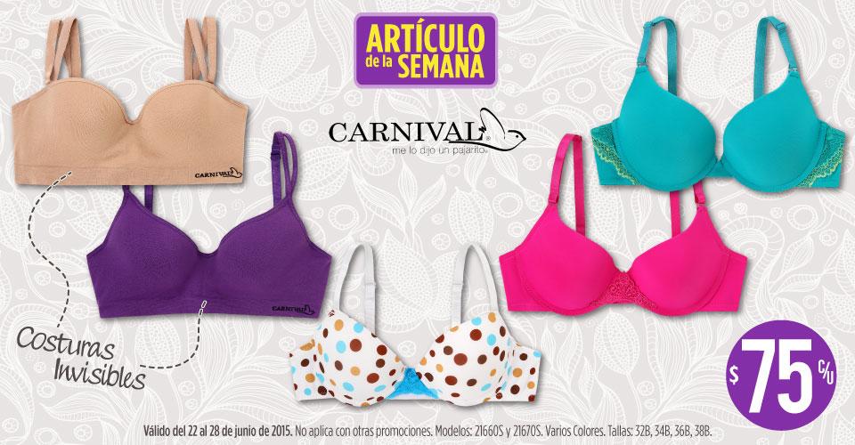 Suburbia: brassiere Carnival $75