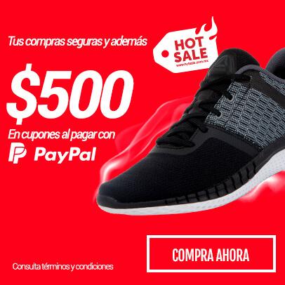 Hot Sale 2018 Dportenis: - 30% de descuento y 1000 pesos en cupones