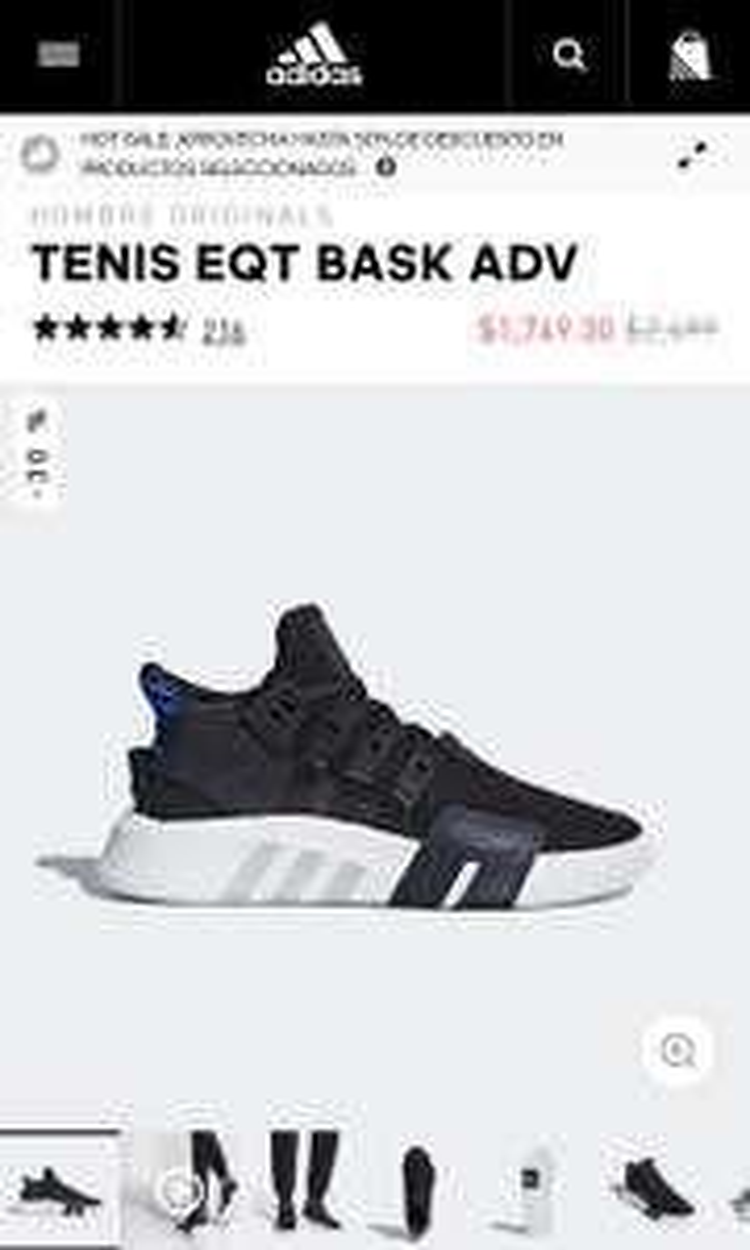 Hot Sale 2018 Adidas: TENIS EQT BASK ADV
