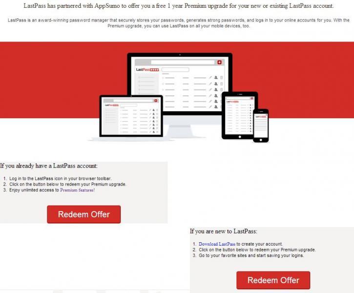 1 año gratis de LastPass Premium