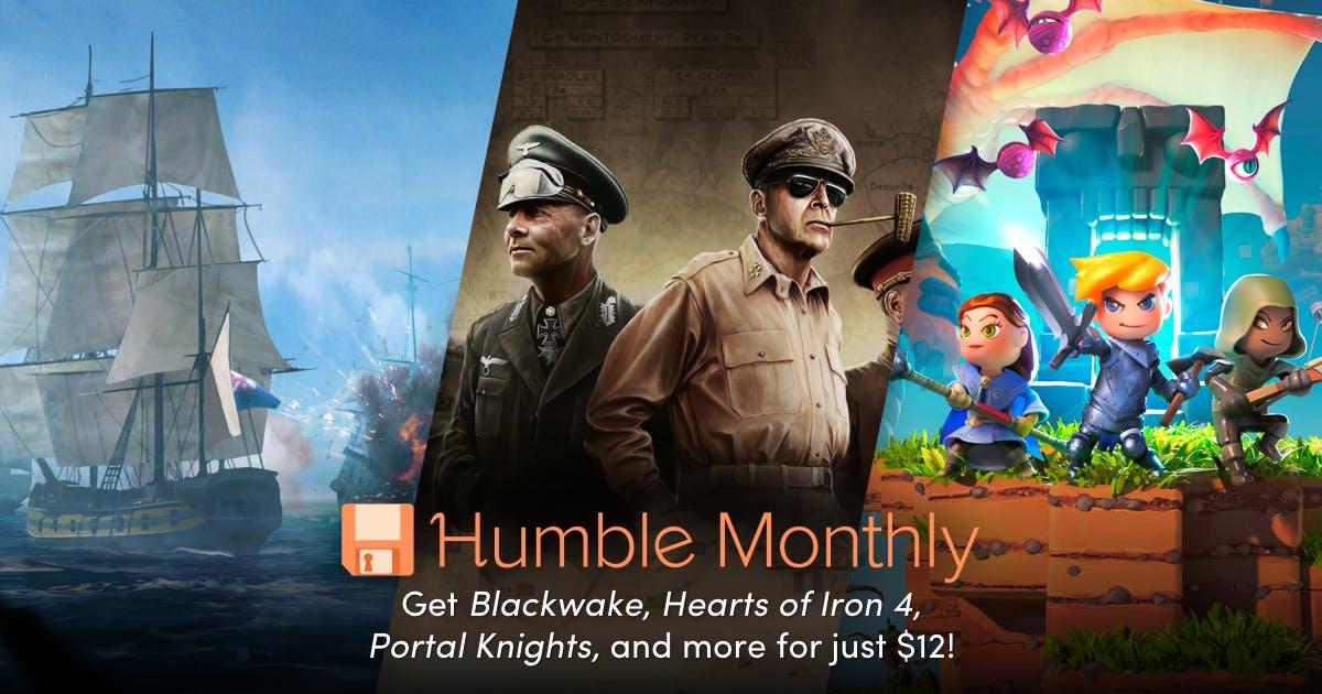 Humble Bundle: Humble Monthly de Julio y desbloqueo de Junio