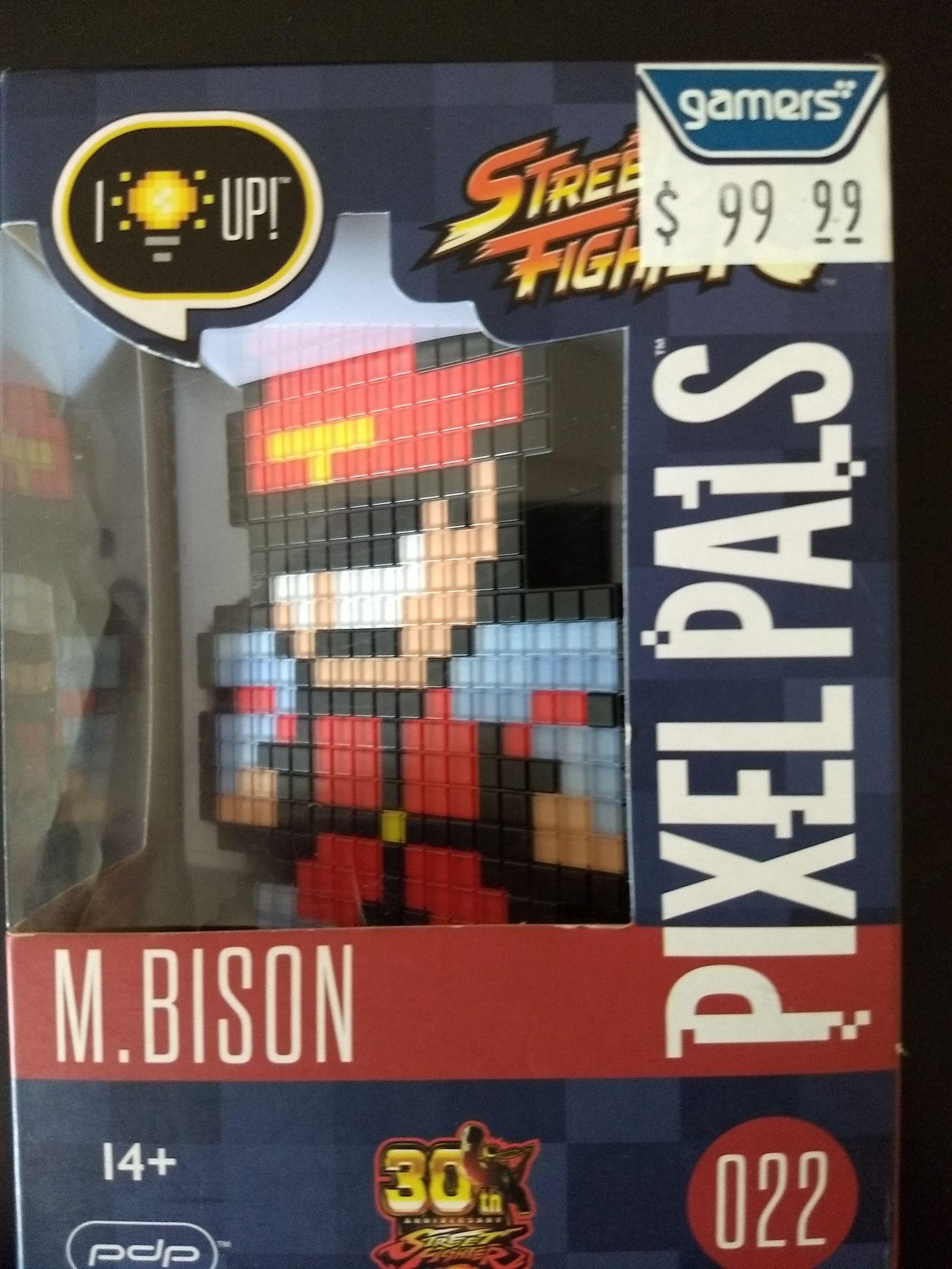 Gamers: Píxel pals M. Bison